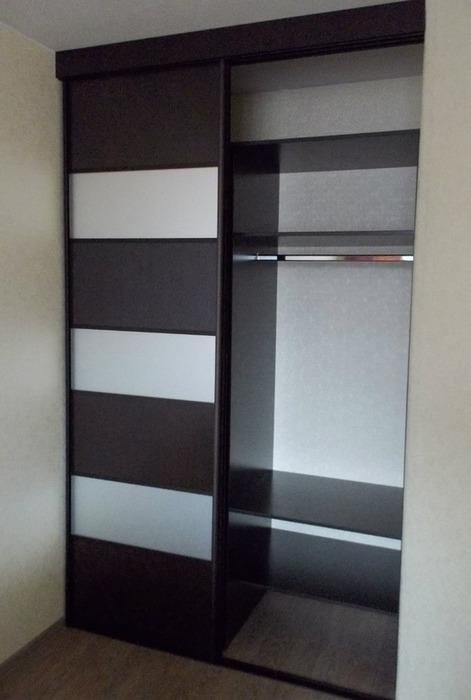 Встроенные шкафы-купе-Шкаф-купе из ЛДСП «Модель 68»-фото2