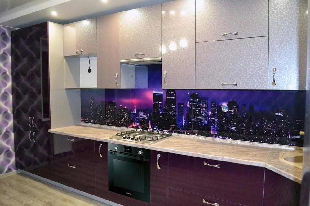 Встроенная кухня-Кухня из ПВХ «Модель 149»-фото1