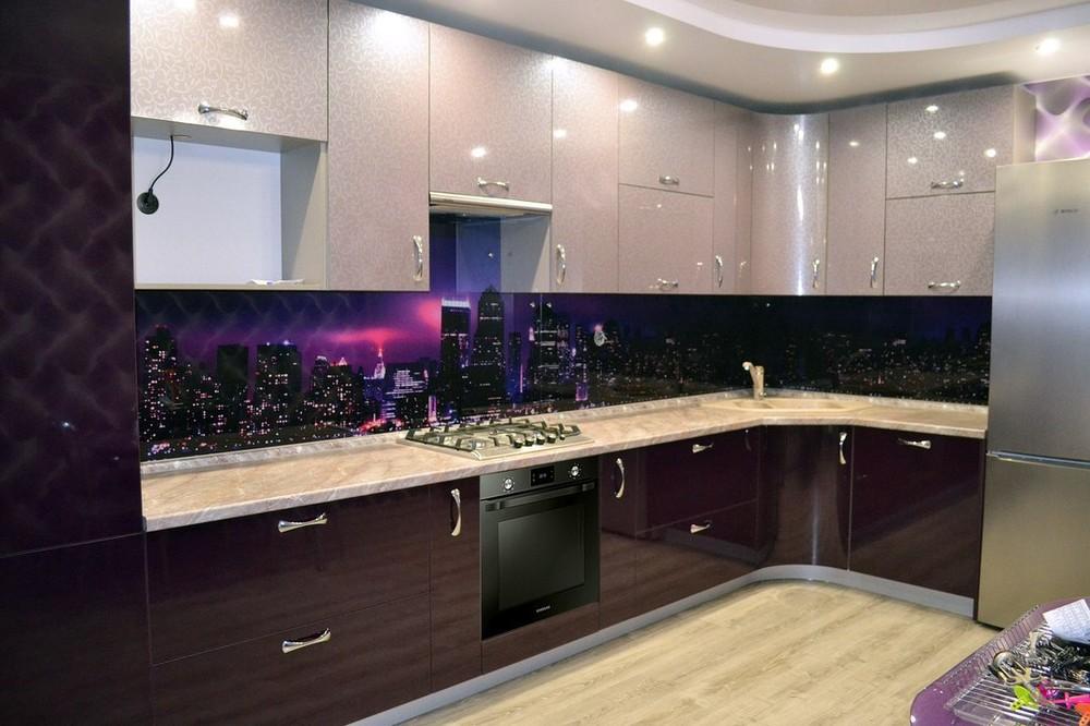 Встроенная кухня-Кухня из ПВХ «Модель 149»-фото2