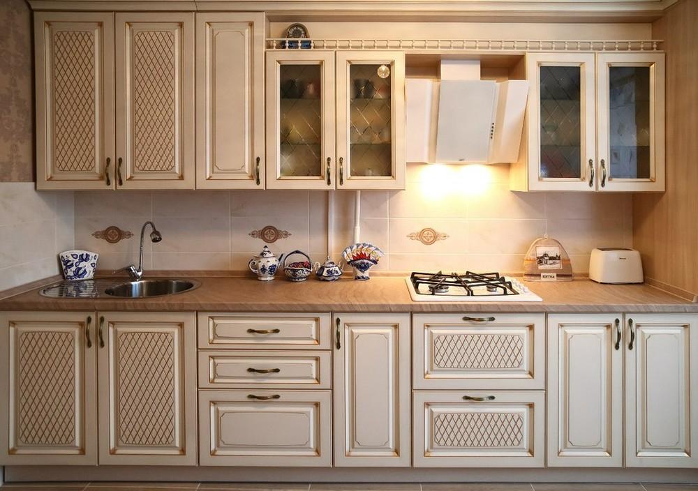 Акриловые кухни-Кухня из пластика «Модель 135»-фото3