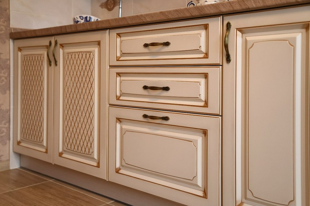 Акриловые кухни-Кухня из пластика «Модель 135»-фото6