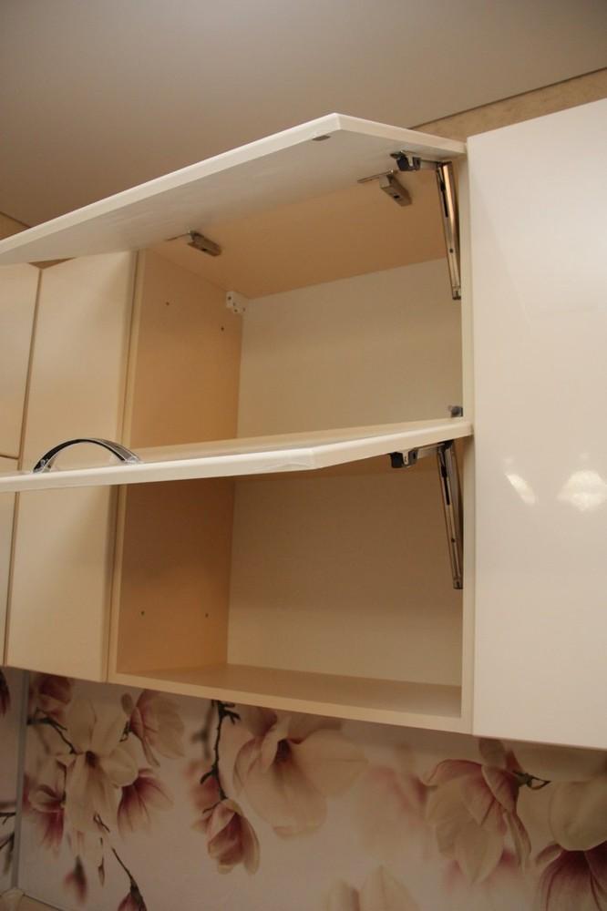 Встроенная кухня-Кухня МДФ в ПВХ «Модель 141»-фото4