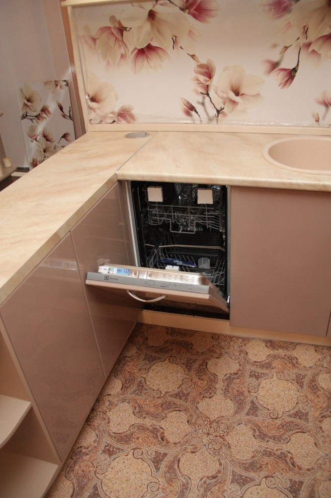 Встроенная кухня-Кухня МДФ в ПВХ «Модель 141»-фото6