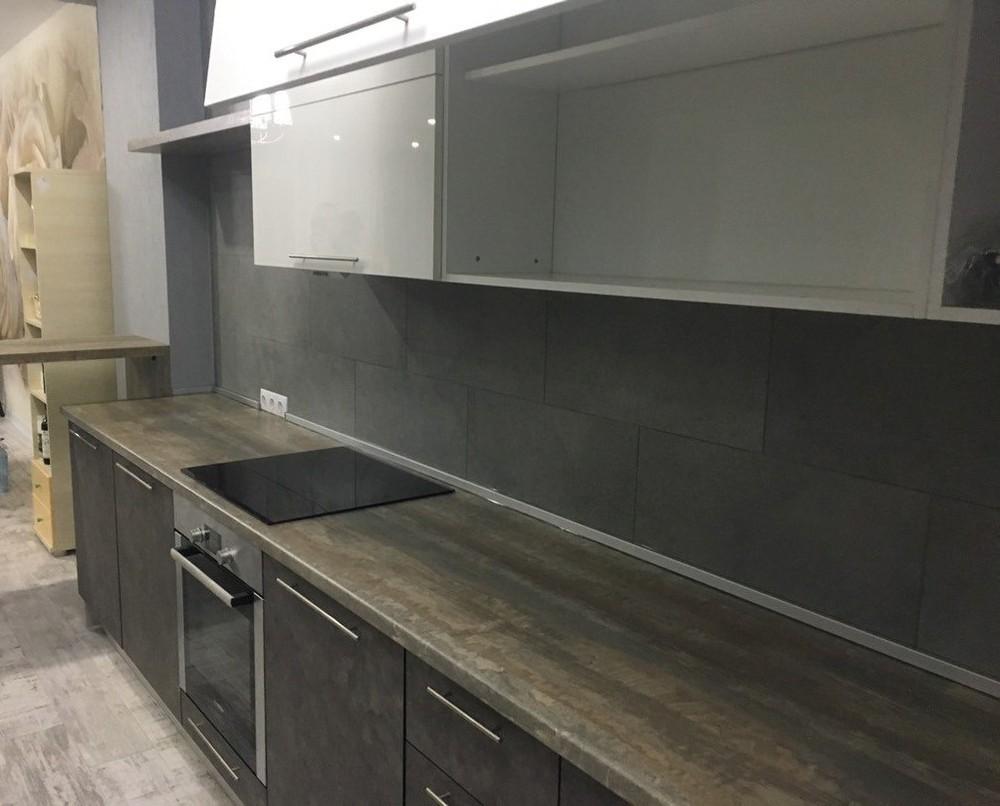 Акриловые кухни-Кухня МДФ в эмали «Модель 159»-фото4