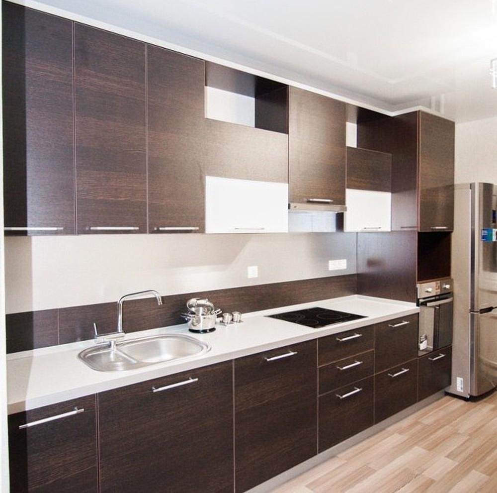 Встроенная кухня-Кухня из ЛДСП «Модель 151»-фото1