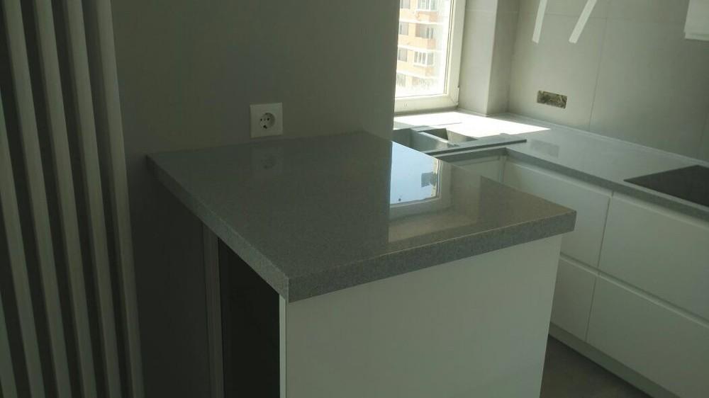 Акриловые кухни-Кухня МДФ в эмали «Модель 85»-фото3