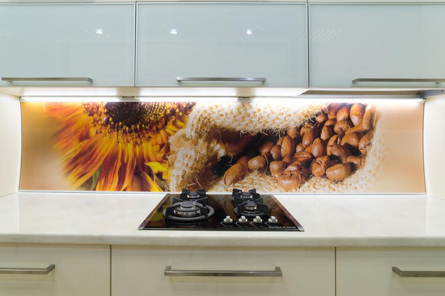 Белый кухонный гарнитур-Кухня МДФ в пластике «Модель 56»-фото3
