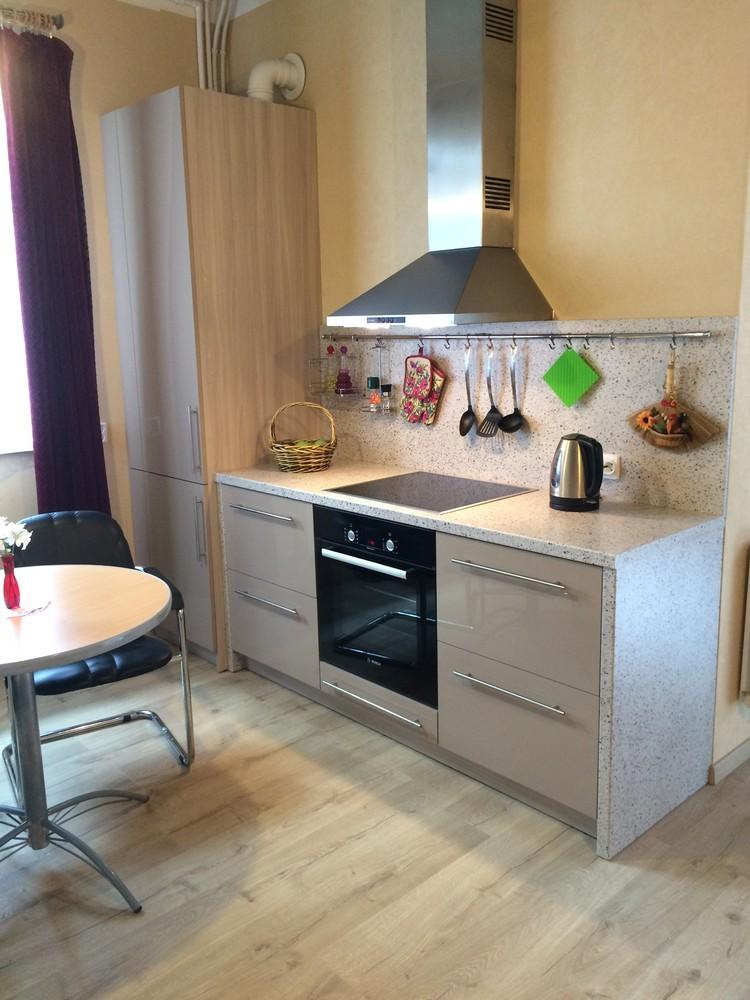 Акриловые кухни-Кухня из пластика «Модель 104»-фото4