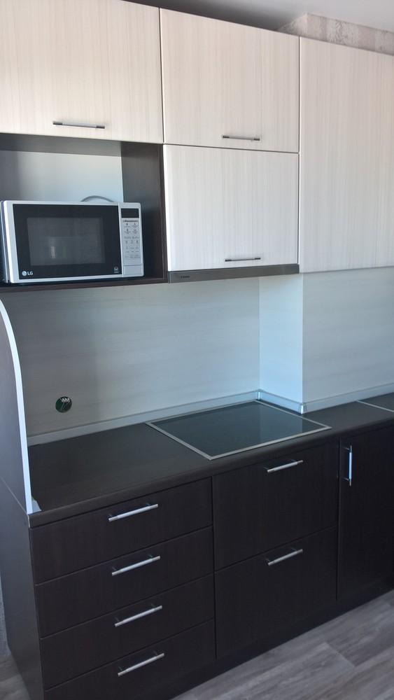 Встроенная кухня-Кухня МДФ в ПВХ «Модель 367»-фото2