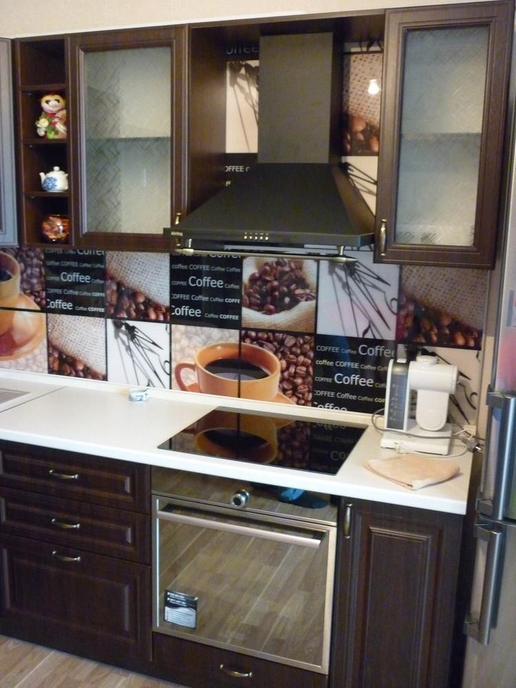 Встроенная кухня-Кухня МДФ в ПВХ «Модель 227»-фото4