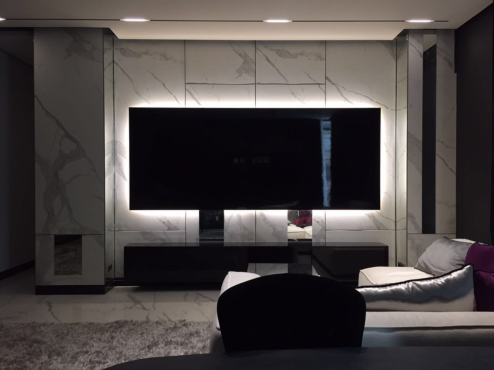 Гостиные-Стенка в гостиную «Модель 55»-фото1