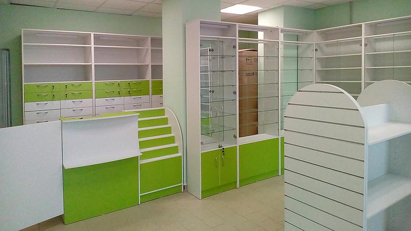 Торговая мебель-Мебель для аптеки «Модель 186»-фото6