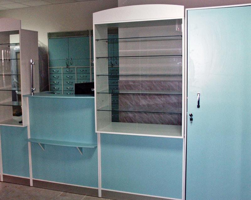 Торговая мебель-Мебель для аптеки «Модель 187»-фото4