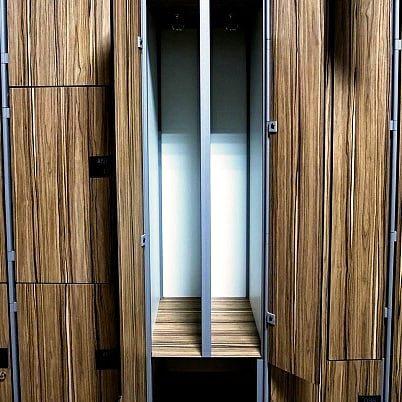 Торговая мебель-Шкафчики для раздевалки «Модель 160»-фото2