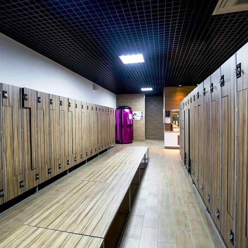 Торговая мебель-Шкафчики для раздевалки «Модель 160»-фото3
