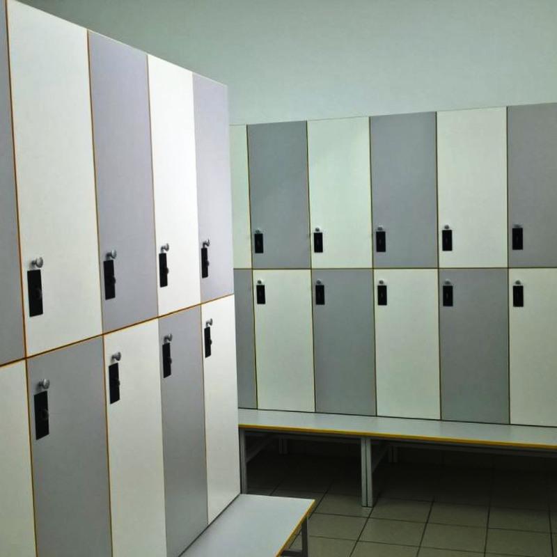Торговая мебель-Шкафчики для раздевалки «Модель 163»-фото4