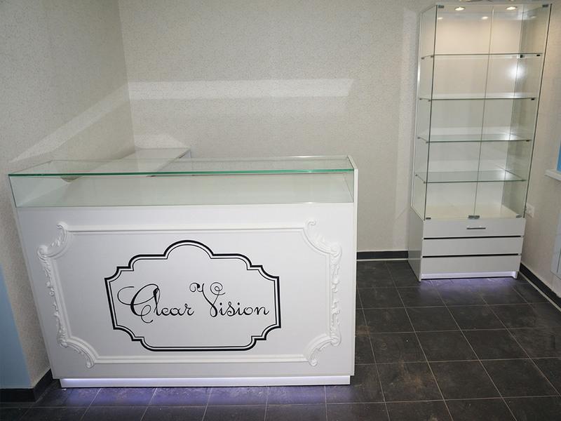 Торговая мебель-Мебель для оптики «Модель 214»-фото1