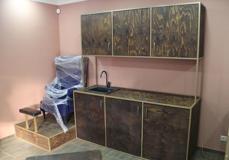 Торговая мебель-Мебель для салона «Модель 104»-фото1