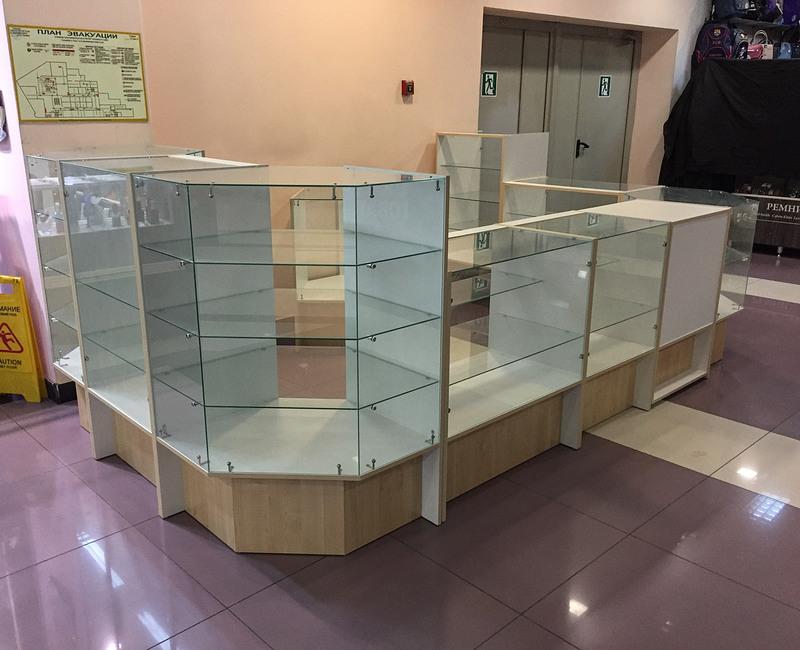 Торговая мебель-Торговый островок «Модель 263»-фото1