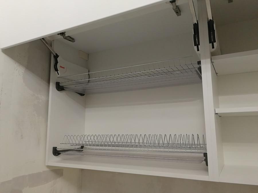 Кухни на заказ-Кухня МДФ в ПВХ «Модель 348»-фото12