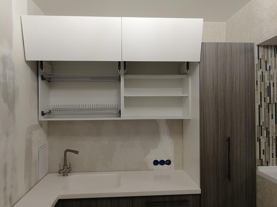 Кухни на заказ-Кухня МДФ в ПВХ «Модель 348»-фото13