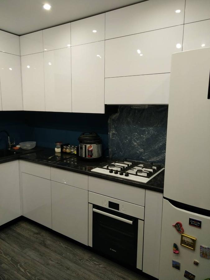 Белый кухонный гарнитур-Кухня «Модель 476»-фото2