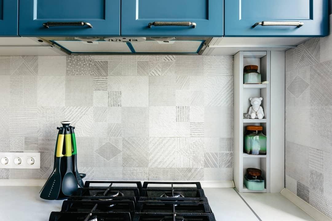 Встроенная кухня-Кухня МДФ в эмали «Модель 612»-фото6