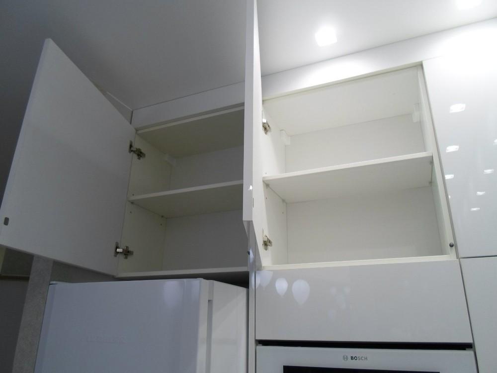 Акриловые кухни-Кухня МДФ в эмали «Модель 203»-фото7