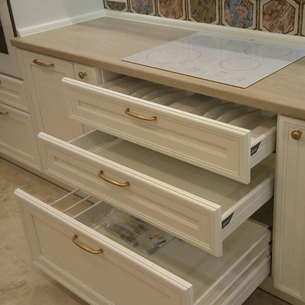 Акриловые кухни-Кухня из пластика «Модель 134»-фото9