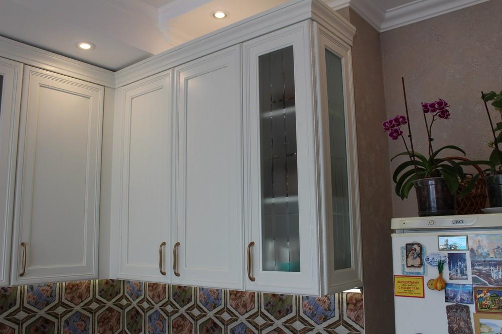 Акриловые кухни-Кухня из пластика «Модель 134»-фото11