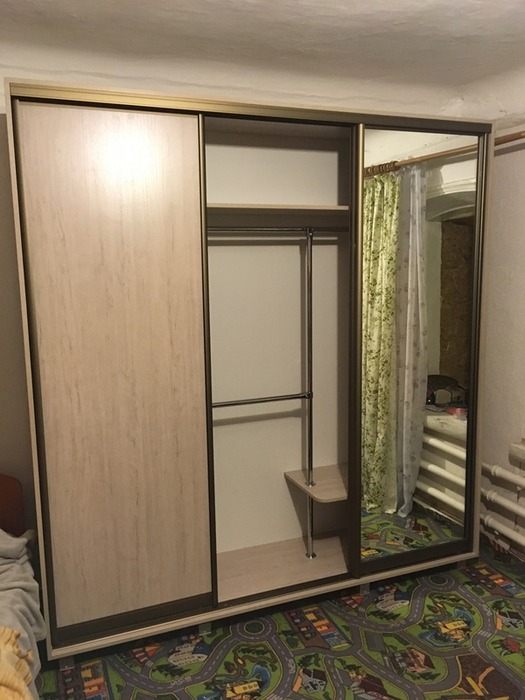 Большой шкаф-купе-Шкаф-купе с зеркалом «Модель 29»-фото3