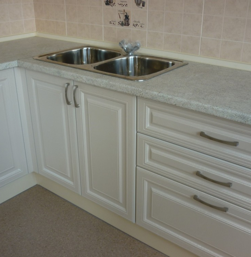Белый кухонный гарнитур-Кухня МДФ в ПВХ «Модель 169»-фото6