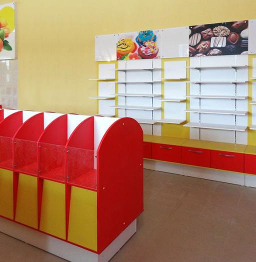 Торговая мебель-Мебель для магазина «Модель 23»-фото3
