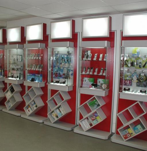 Торговая мебель-Мебель для магазина «Модель 82»-фото2