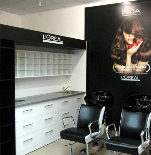 Торговая мебель-Мебель для салона «Модель 110»-фото1