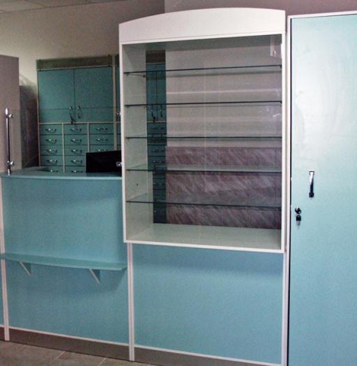 Торговая мебель-Мебель для аптеки «Модель 187»-фото6