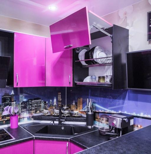-Кухня МДФ в эмали «Модель 115»-фото5