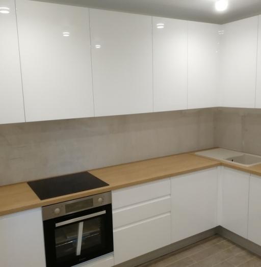 -Кухня МДФ в эмали «Модель 433»-фото13