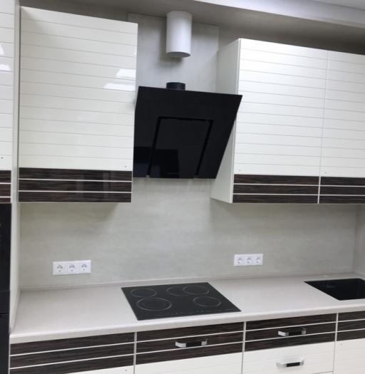Белый кухонный гарнитур-Кухня «Модель 477»-фото3