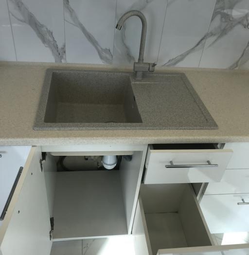 Белый кухонный гарнитур-Кухня МДФ в пластике «Модель 488»-фото4