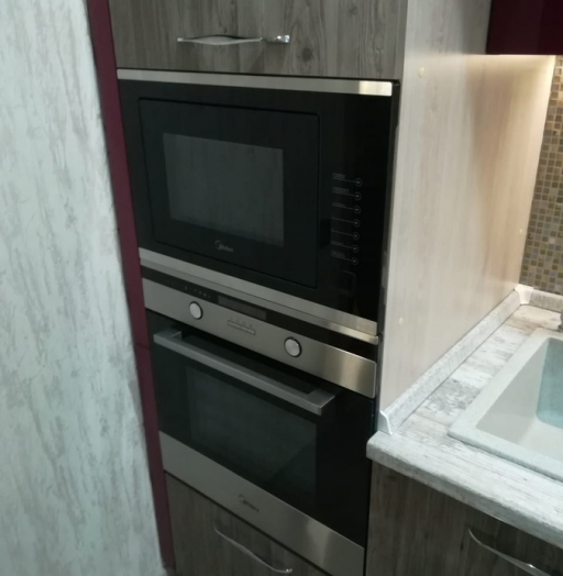 Встроенная кухня-Кухня из ЛДСП «Модель 378»-фото4