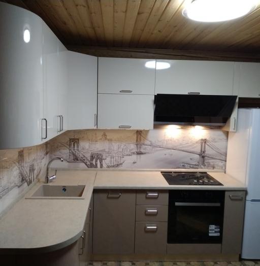 -Кухня МДФ в ПВХ «Модель 38»-фото5