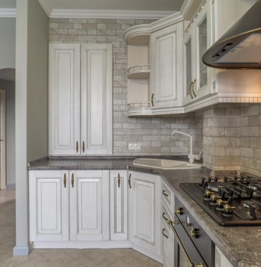 -Кухня из шпона «Модель 7»-фото3
