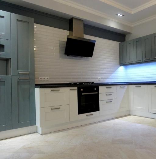 -Кухня МДФ в ПВХ «Модель 145»-фото2