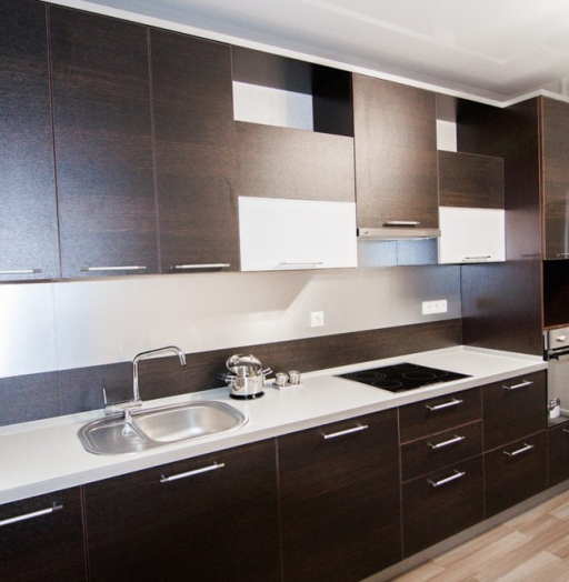 Встроенная кухня-Кухня из ЛДСП «Модель 151»-фото6