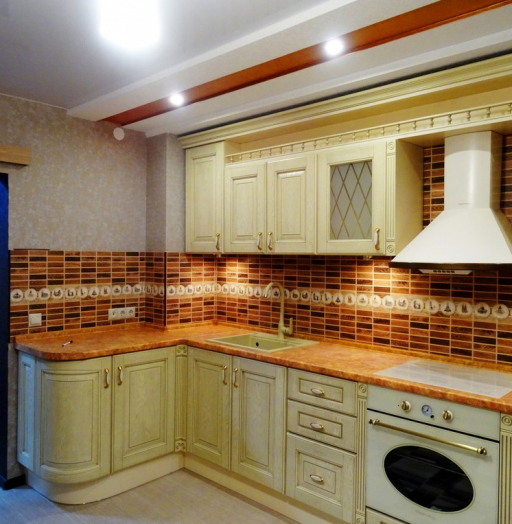 -Кухня МДФ в эмали «Модель 301»-фото19
