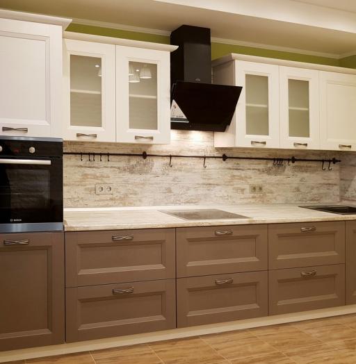 -Кухня из шпона «Модель 25»-фото1