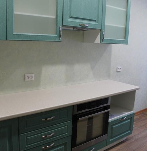 Встроенная кухня-Кухня МДФ в ПВХ «Модель 338»-фото6