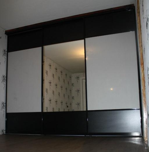 Большой шкаф-купе-Шкаф-купе с зеркалом «Модель 121»-фото3