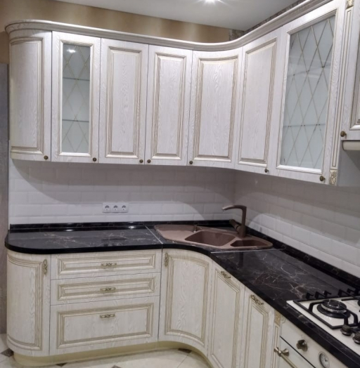 -Кухня из шпона «Модель 581»-фото25